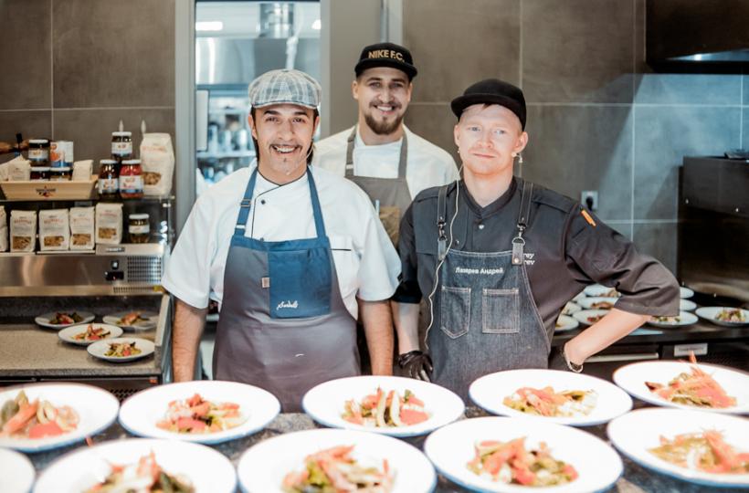 Фотоотчет с гастрономического ужина «Теория и практика итальянской кухни