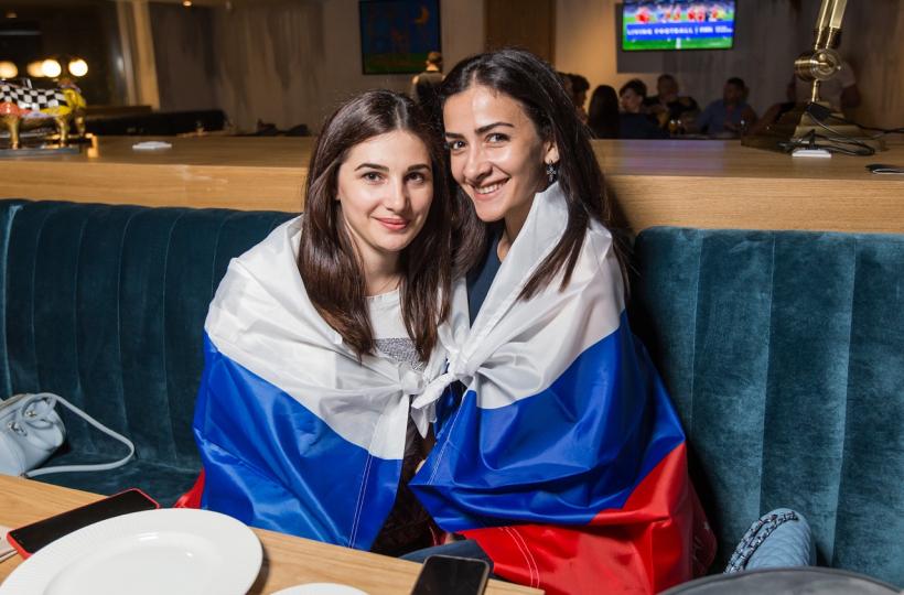 Россия – Хорватия - фотоотчет из ресторана Barceloneta