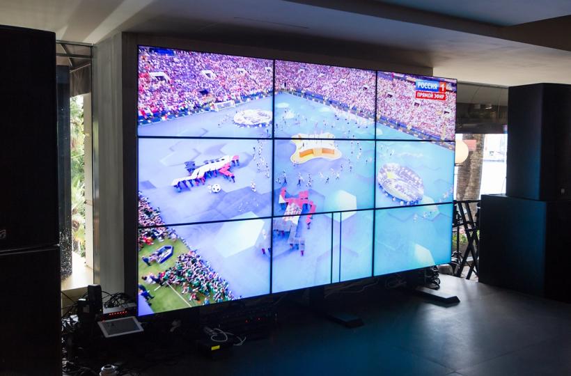 Финал Чемпионата Мира по футболу - фотоотчет из ресторана Barceloneta