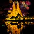 Фотоотчет - новогодняя ночь Barceloneta