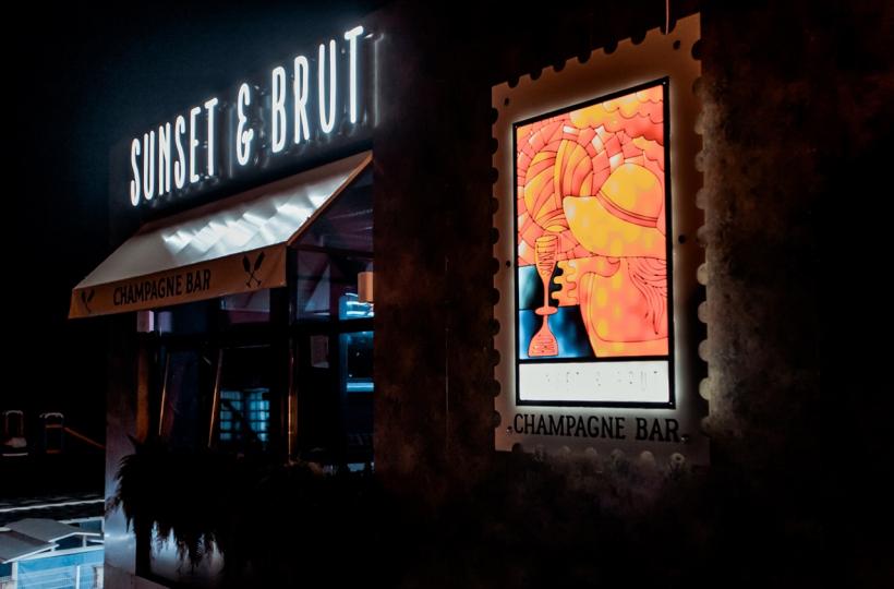 Фотоотчет – Егор Сесарев в Sunset&Brut