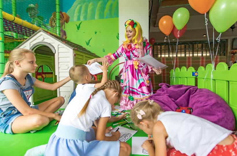 Фотоотчет – День Рождения клоунессы-сладкоежки