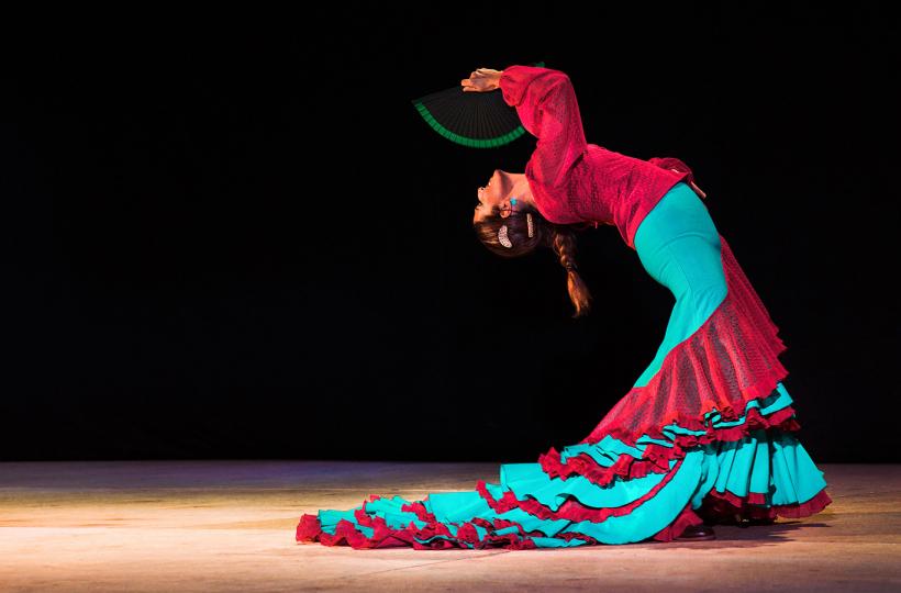 Natalia Meiriño | Spain & Flamenco Banda в ресторане Barceloneta