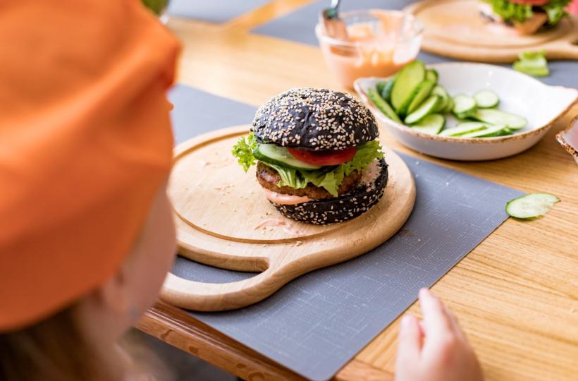 Фотоотчет – Mастер-класс Burger Superhero