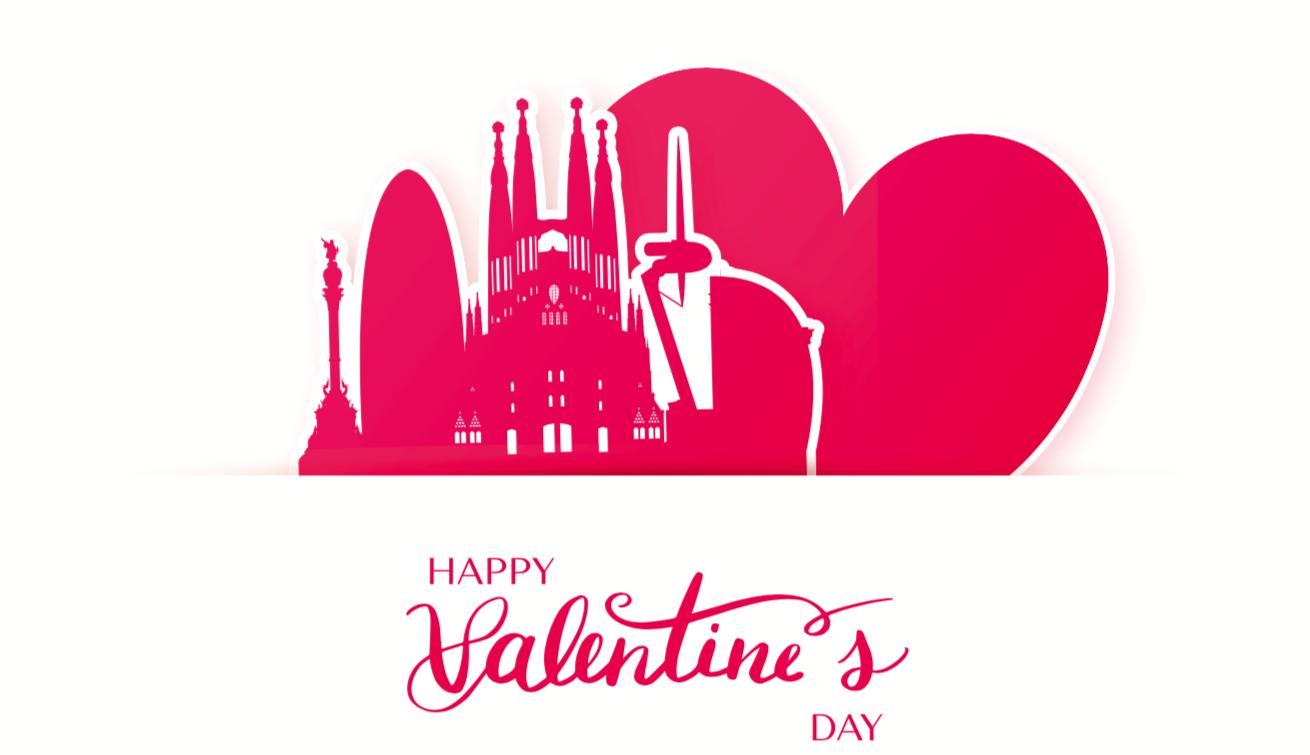 День Святого Валентина в ресторане Barceloneta