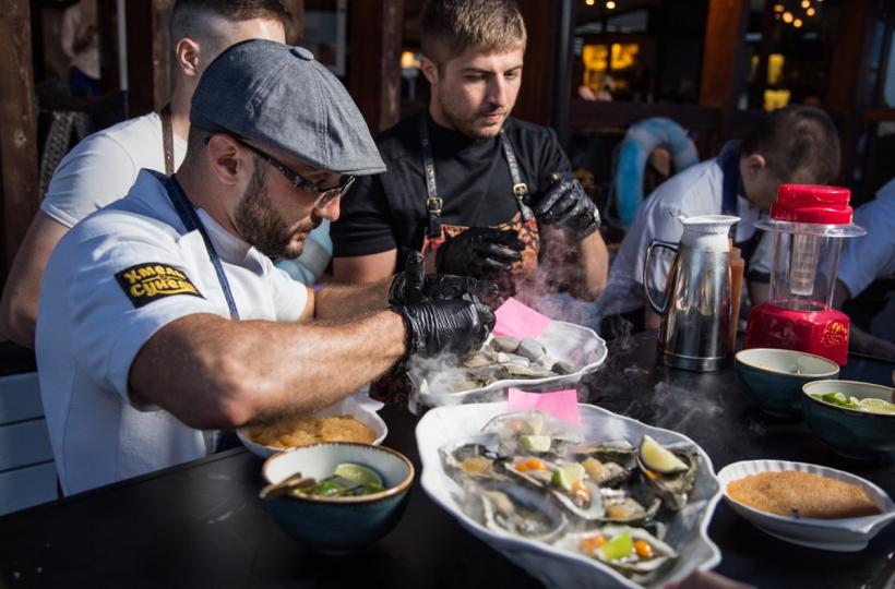 Гастрономический ужин от шефов LRG в Sea Zone