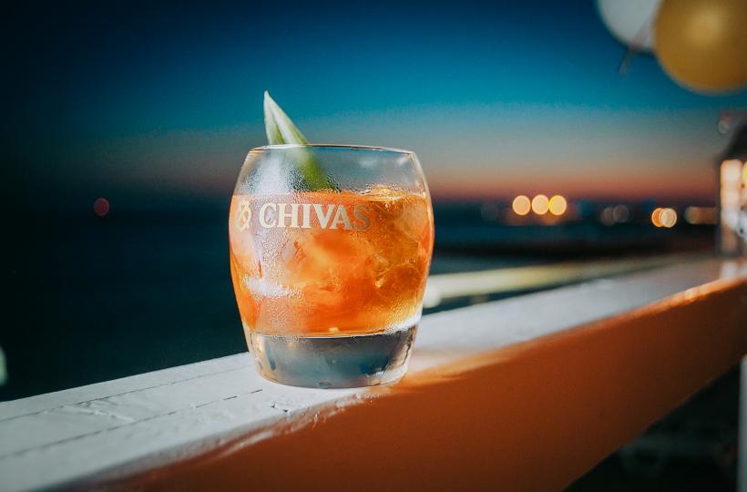 Вечер в стиле Chivas в ресторане Sea Zone