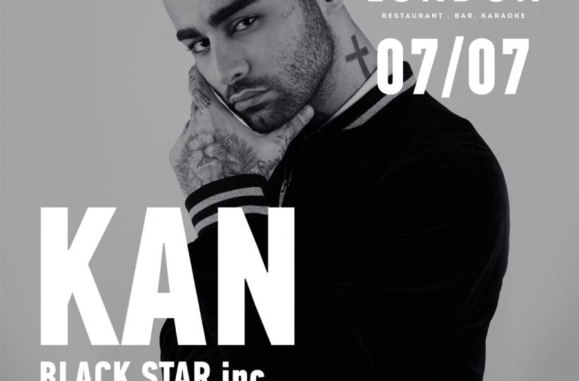Kan Black Star inc в Bar London