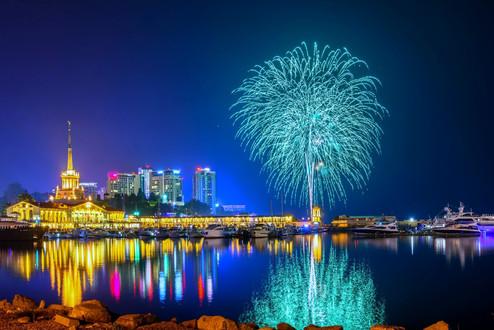 Новый год на Яхте