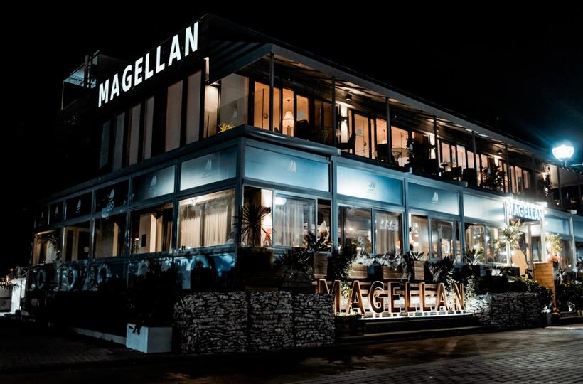 Halloween в ресторане Magellan