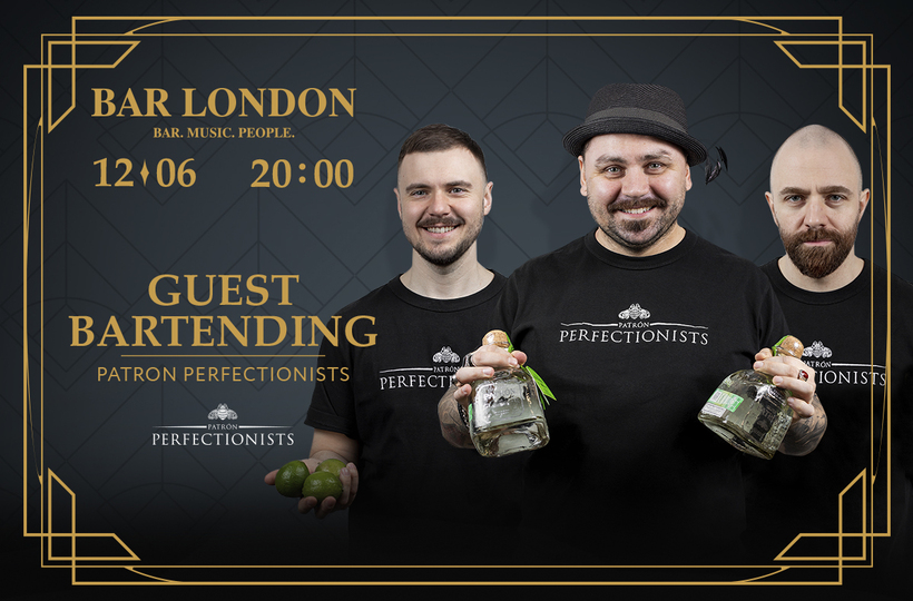 Patrón Perfectionists Guestbartending