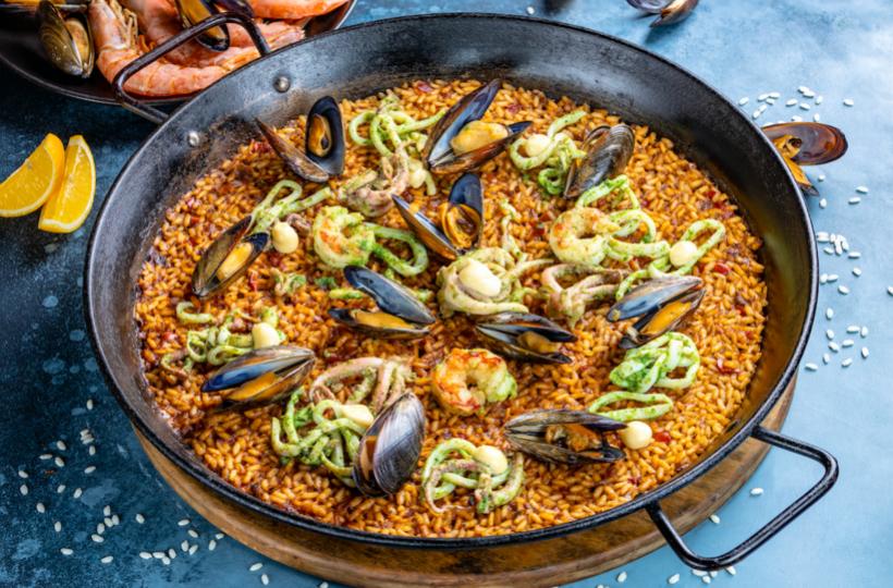Paella Time в ресторане Barceloneta